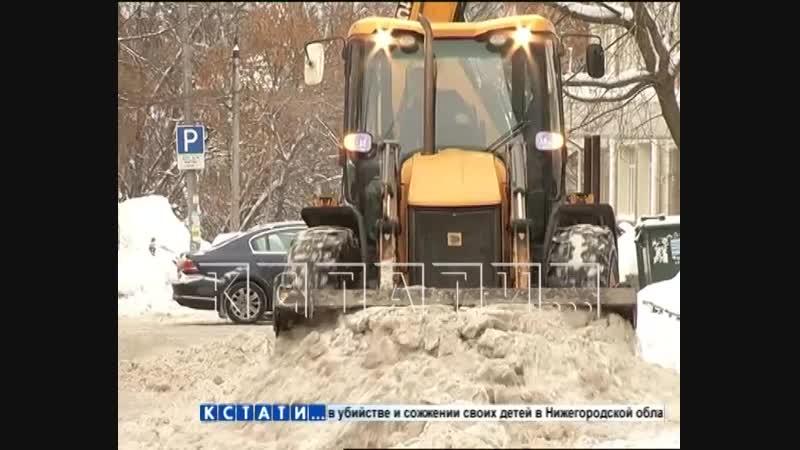 Зачистка для расчистки - припаркованные машины массово эвакуируют из-за уборки города