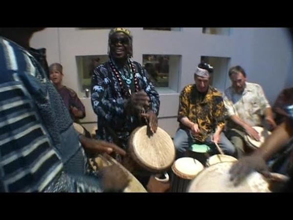 Agalu African Drums at International Folk Art Market, 2012