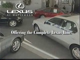 old lexus ls 400 es 300 gs300 gs 400 commercial