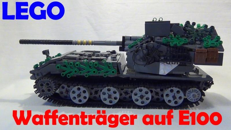 LEGO Waffenträger auf E 100