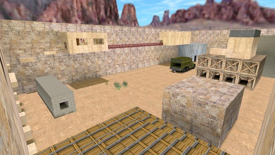 [CS 1.6] Карта - zm_dust_world