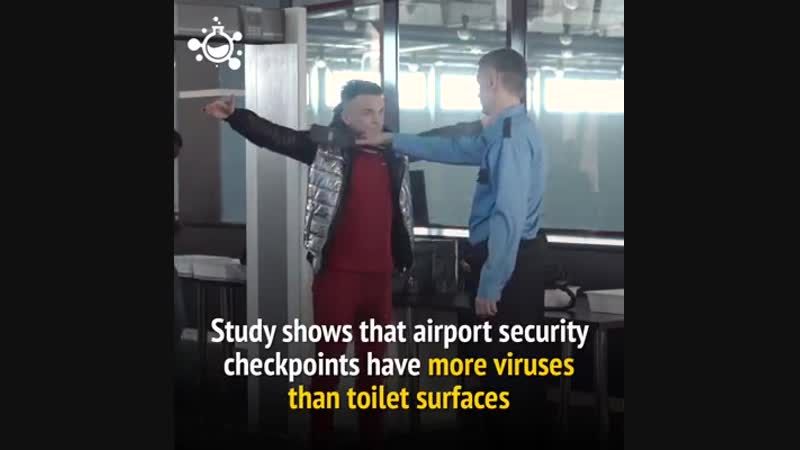 Airport Security Check- Viruses
