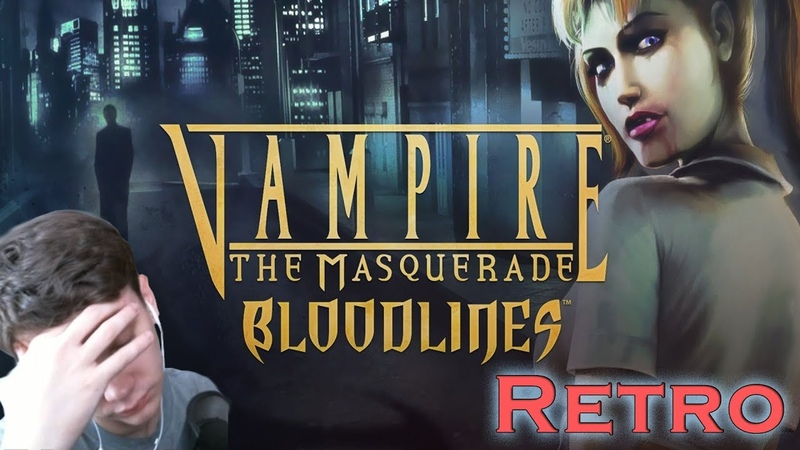 Поигрался с гаммой бл* Vampire The Masquerade - Bloodlines