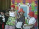 Кристина, Аделина и Данила - красные шапочки