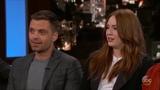 Sebastian Stan talking about his K-Y Jelly lube