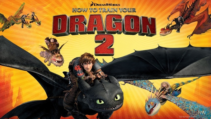 HOW TO TRAIN YOUR DRAGON 2 review for Nintendo Wii U