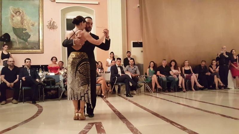 Syros Tango Festival ,Loukas Balokas-Georgia Priskou 1/4