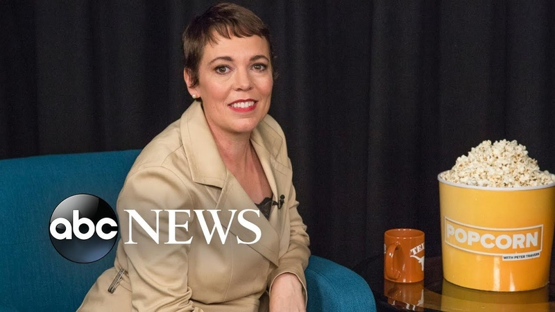 Olivia Colman on her roles in 'The Favourite' and 'The Crown'