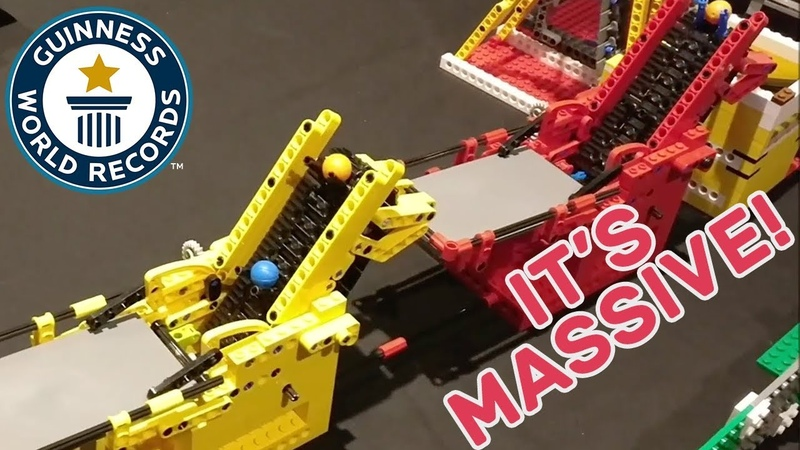 Largest LEGO® great ball contraption Guinness World Records Uncut