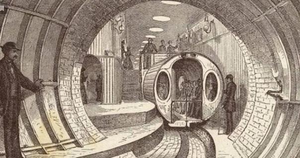 Древнее пневматическое метро: остатки прошлой цивилизации Вы когда-нибудь задумывались зачем нужно было строить метро по всему миру почти двести лет назад Ведь на поверхности не было