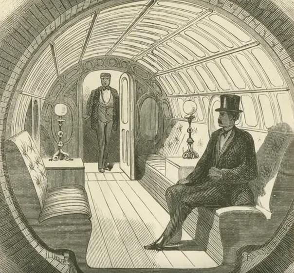 Древнее пневматическое метро: остатки прошлой цивилизации