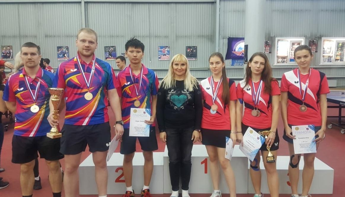 Чемпионат Сибирского федерального округа по настольному теннису