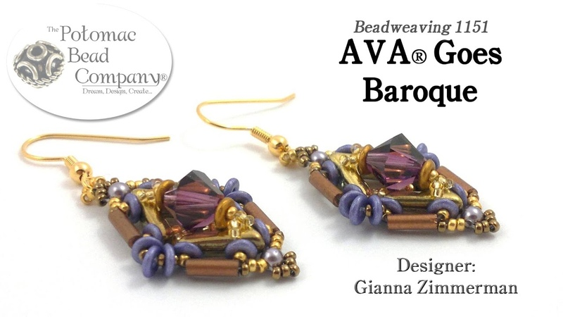AVA® Goes Baroque (Earring Tutorial)
