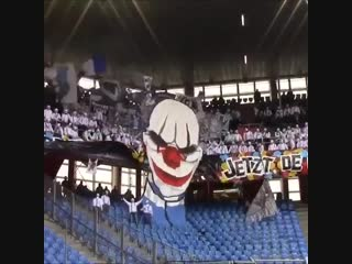 Luzern Ultras away at Basel in 2017