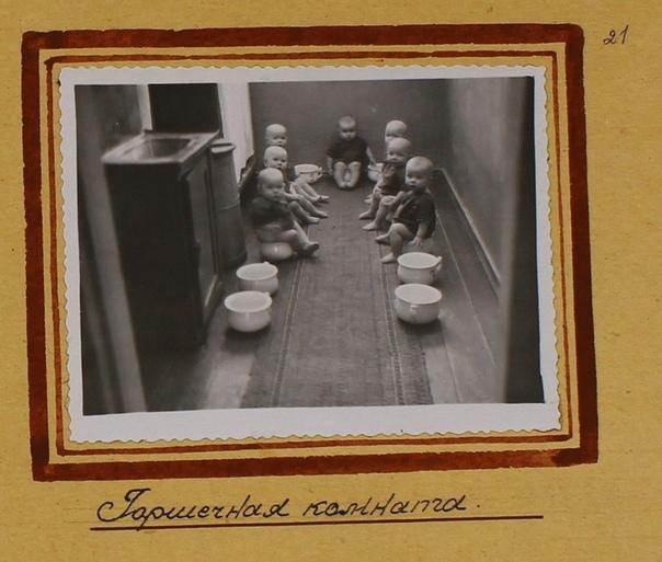 ползунковое отделение гулага в зоне третьего (женского) отделения ягринлага был дом младенца, где содержались от 50 до 180 рожденных в неволе детей. при достижении детьми 2 лет их передавали