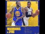 Warriors vs Spurs