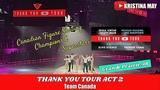 Thank You Canada Tour Act 2 HD TTYCT Grande Prairie,AB VLOG
