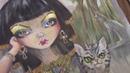 РАСКРАСКА для взрослых Египетская принцесса SANURA 2 часть / РАСКРАСКИ АНТИСТРЕСС