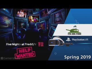 Five nights at freddys vr  help wanted - reveal trailer [hd 1080p]