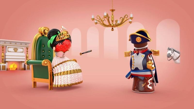 Milko Strawberry Napoleon Josephine