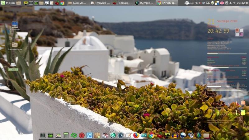 Linux Mint Cinnamon 19 64bit RUS золотая сборка от Алексея