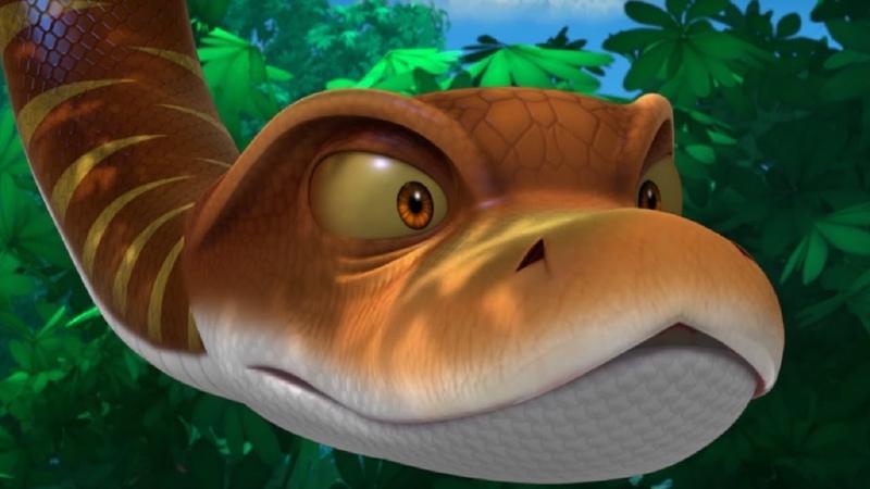 Маугли - Книга джунглей - Питон и икота –развивающий мультфильм для детей HD