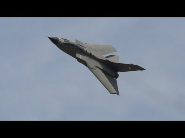 Tornado A-200 Italian Air Force flying Display RIAT Saturday 12 July 2014 Air Show