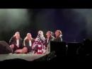 Chrisina Aguilera mentioned Demi at the Curacao North Sea Jazz Festival in Piscadera Bay