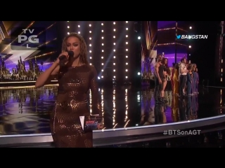TYRA BANKS JUST ANNOUNCED THAT BTS WILL PERFORM ON AGT STAGE NEXT WEEK!!! I WILL LIVE STRE