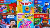 ТРИ КОТА, LEGO NINJAGO, LEGO CITY, LEGO FRIENDS, LEGO STAR WARS, SHOPKINS / ЖУРНАЛЫ АВГУСТ
