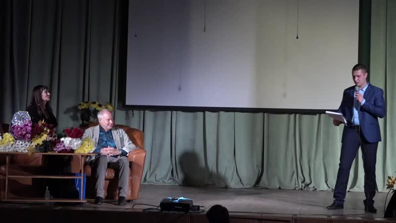 Кирилл Домников Театр Альфа Сергея Сарычева Творческий вечер В А Конкина