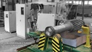 ТВЧ закалка крупномодульной вал шестерни методом впадина за впадиной