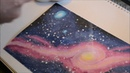 How To Draw a Galaxy in Copic Markers