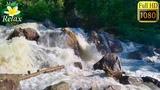 Расслабляющий Шум Горной Реки - 10 часов глубокой Релаксации