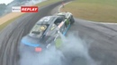 Vaughn Gittin Jr / Fail Wheel ripped off on Qualification Formula DRIFT | Ford Mustang GT