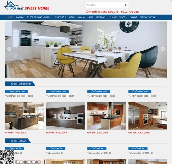 Mẫu web nội thất thumbnail