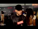 [extratv] Our Eminem Interview Gets Crashed by 50 Cent: 'Who Is This Guy?'