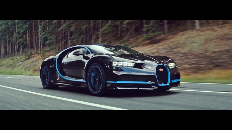 BUGATTI Chiron 0-400-0 kmh in 42 seconds – A WORLD RECORD IAA2017