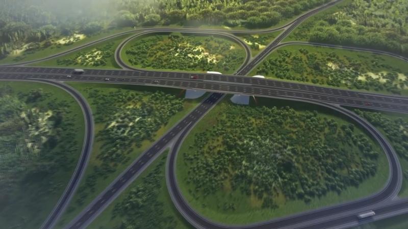 Реконструкцию 20-километрового участка «Скандинавии» завершат на год раньше