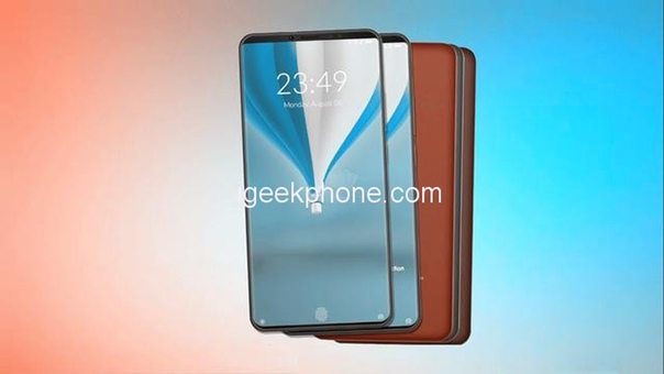 Концепт смартфона Xiaomi Mi Max 4: экран