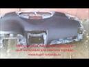 Ремонт торпеды на Toyota Camry 40 после срабатывания подушек безопасности Airbag