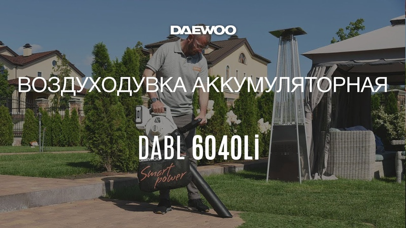 Воздуходувка аккумуляторная Daewoo DABL 6040Li [Daewoo Power Products Russia] 6