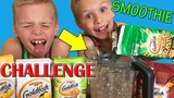 Twins Goldfish SMOOTHIE Challenge
