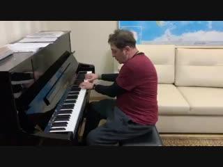 Уроки пианино от Г. Лепса :) (Кишинев, 10.02.19)