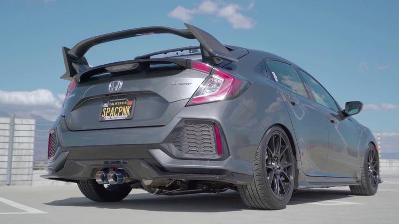 ARK Performance DT-S Exhaust on Honda Civic Hatchback 16