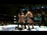 Hideki Suzuki, Daisuke Sekimoto vs. Takuya Nomura, Fuminori Abe (BJW - Midsummer Korakuen 2 Battles - Day 1)