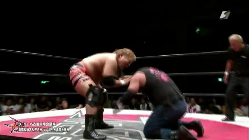 Ryuichi Kawakami Kengo Takai Kazumi Kikuta vs Masaya Takahashi Takayuki Ueki Toshiyuki Sakuda BJW Death Mania 6