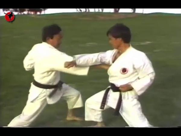 Kenneth Funakoshi kihon kumite in Karate Кеннет Фунакоши кихон кумитэ в Каратэ