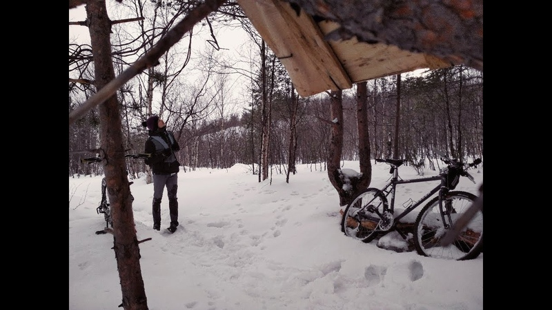 One fun day of winter cycling RAW version