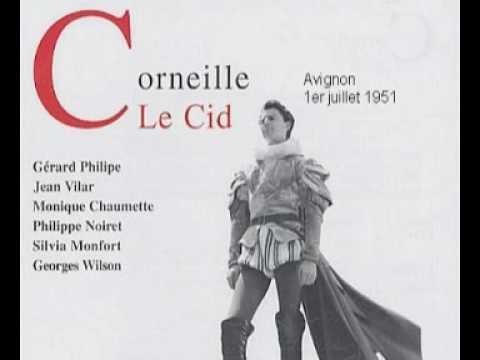 Le Cid Gérard Philipe Jean Vilar Georges Wilson Philippe Noiret